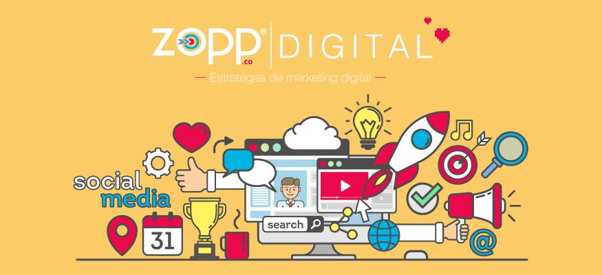 Marketing digital Bogotá y el proceso de expansión de Zopp Agency