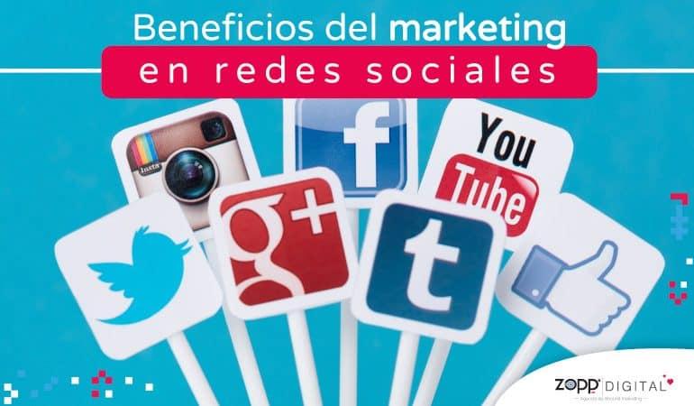 Beneficios del marketing en redes sociales