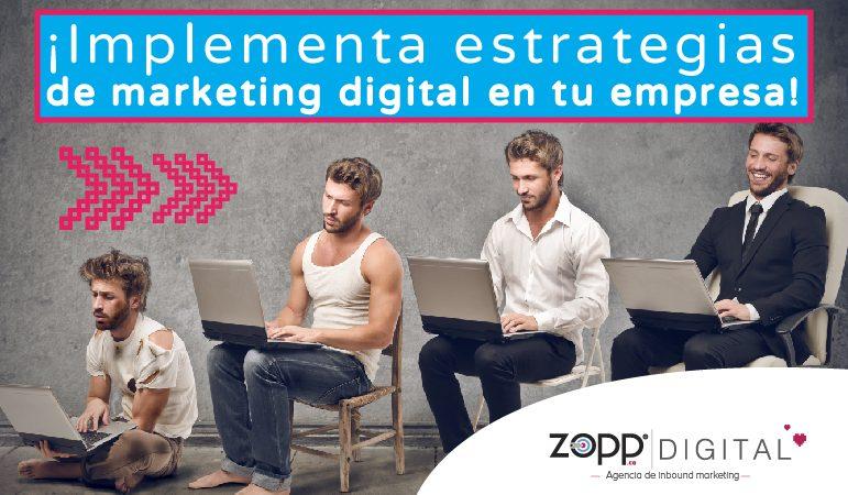 Estrategias de marketing digital en tu empresa