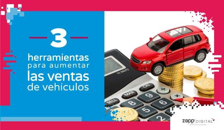 Herramientas para aumentar los prospectos en compra de vehículos