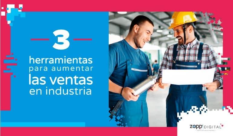 Herramientas para aumentar los prospectos en compra de sistemas o elementos industriales